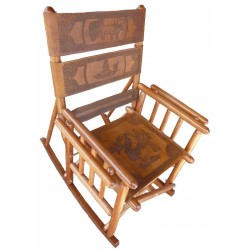 Medium Back Rocking Chair